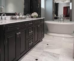 Bathroom Floor Tile Ideas Great Black And White Marble Bathroom Floor Tiles For Small Home
