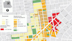 san francisco land use map land use planning department of geography environment