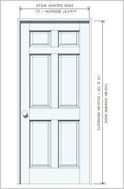 Standard Door Sizes Interior Standard Bedroom Door Height Standard Bedroom Door Height
