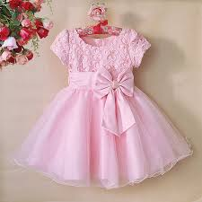 2015 newest kids dress for wedding party dress pink party