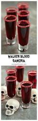 halloween drink names walker blood sangria for dead eats recipes inspired by the