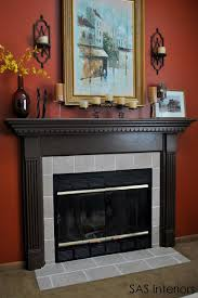 fireplace delectable living room decoration using black metal