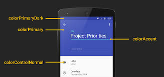 android developers blog implementing material design in your