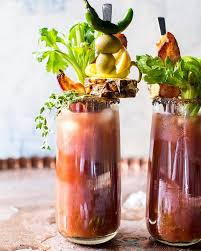 organic bloody mix sweet spicy pineapple jalapeno bloody tieghan