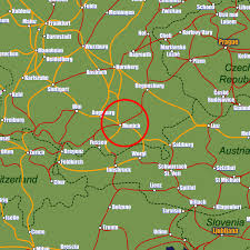 map germnay munich rail maps and stations from european rail guide