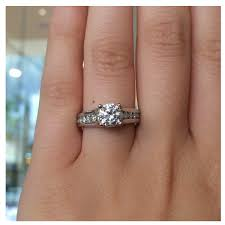 channel engagement ring wedding rings channel wedding rings channel set