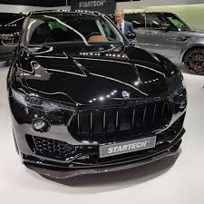 maserati car interior 2017 maserati levante by startech brabus with interiors made by