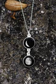 personalized charm necklaces personalized jewelry moon pendant lunar charm
