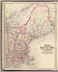 New England Maps by New England David Rumsey Historical Map Collection