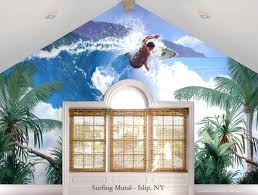 100 surfing wall murals patrick parker art home facebook murals bill dodge studios illustration surfing mural