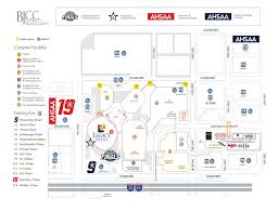 Ball State Parking Map by 2017 Ahsaa Basketball State Finals