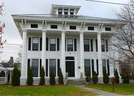 greek revival style house great exle federal meets victorian italianate victorian