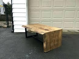 waterfall coffee table wood waterfall coffee table wood like this item wood waterfall coffee