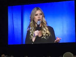 christina el moussa gets a makeover and speaks at expo about ex