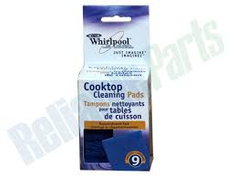 Whirlpool Cooktop Cleaner 31609b Whirlpool Cooktop Cleaning Pads Reliable Parts