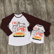 thanksgiving baby fall boutique top t shirts children
