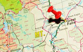 Montana Maps Detaild Vector Map Montana State Usa Stock Vector 38043613 Vector