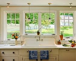 window over kitchen sink houzz