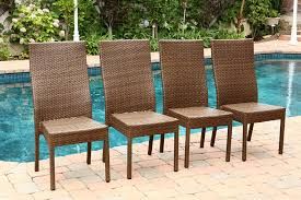 Solana Bay 7 Piece Patio Dining Set - amazon com abbyson living palermo outdoor wicker dining chair