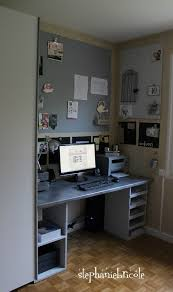 fabriquer un bureau informatique fabriquer soi même un bureau en bois stéphanie bricole
