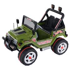 jeep christmas decorations costway 12v mp3 kids raptor jeep truck rc ride on car w double