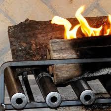 amazon com spitfire fireplace heater 4 tube w blower home