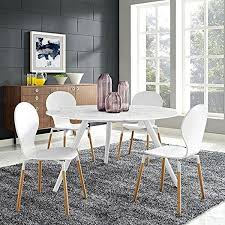 white marble dining room table for modern interior decoration