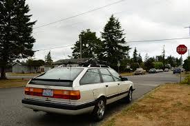 audi 200 avant parked cars 1991 audi 200 quattro avant