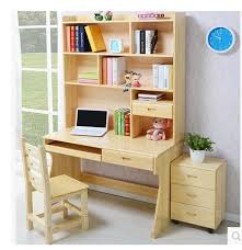 Pine Desk With Hutch Free Shipping Solid Wood Computer Desk With Shelves Cabinet