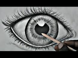 step by step drawing a realistic eye for beginners youtube
