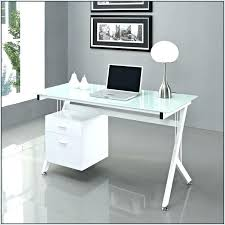 interior white desk glass top shippiesco pertaining to white desk with glass top prepare from