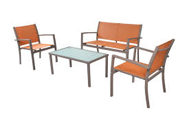 Cheap Patio Furniture Amazon Com Traxion 4 210 Outdoor Patio Furniture Set Sunset