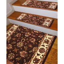 Stair Tread Covers Carpet Stair Awesome Stair Design With Brown Wooden Tread Covers And