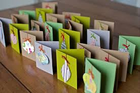 12 beautiful diy u0026 homemade christmas card ideas home design