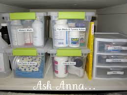 easiest way to organize medicine bottles ask anna