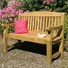 5ft Garden Bench Zest 4 Leisure Emily 3 Seater Bench On Sale Fast Delivery