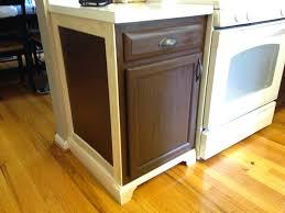 little brick home budget kitchen renovation adding moulding to