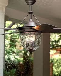 Pottery Barn Lantern Ceiling Fan Dark Aged Bronze Outdoor Ceiling Fan With Lantern