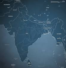 vector map of india political one stop map