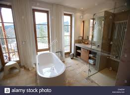 a view of a bathroom in a suite in the new construction u0027retreat