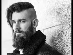 viking hairstyles latest long hair undercut viking chic youtube