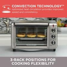 Black And Decker Home Toaster Oven Black Decker 6 Slice Silver Toaster Oven To3230sbd The Home Depot