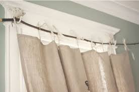 Curtains With Trees On Them How To Make Beautiful Curtain Rods Out Of Tree Branches