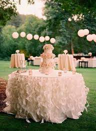 table covers for weddings stunning tablecloths ideas for cake table display weddceremony