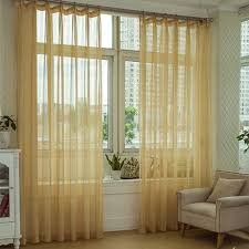 Patterned Sheer Curtains Beautiful Lines Patterned Light Yellow Striped Sheer Curtains
