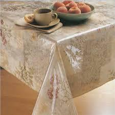 clear vinyl table protector elrene clear vinyl tablecloth protector 70 round elrene home