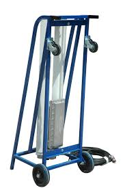 Spray Booth Ventilation System Explosion Proof Paint Spray Booth Light On Dolly Cart With Wheels