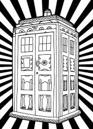 doctor who 10 tv shows u2013 printable coloring pages