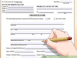 Rhode Island travelers aid images 5 ways to change your name in rhode island wikihow jpg