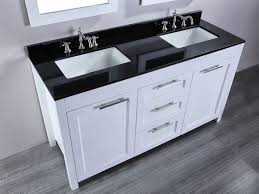 Black Bathroom Vanity Units black and white bathroom vanity unit